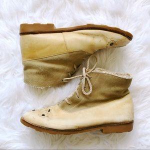 //VINTAGE// Leather Booties